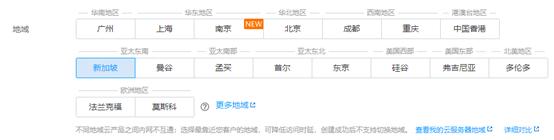 腾讯云云服务器CVM资源分布图