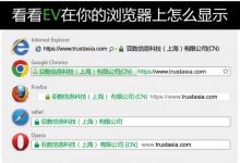 域名型(DV),企业型(OV),增强型(EV)三种SSL证书对比