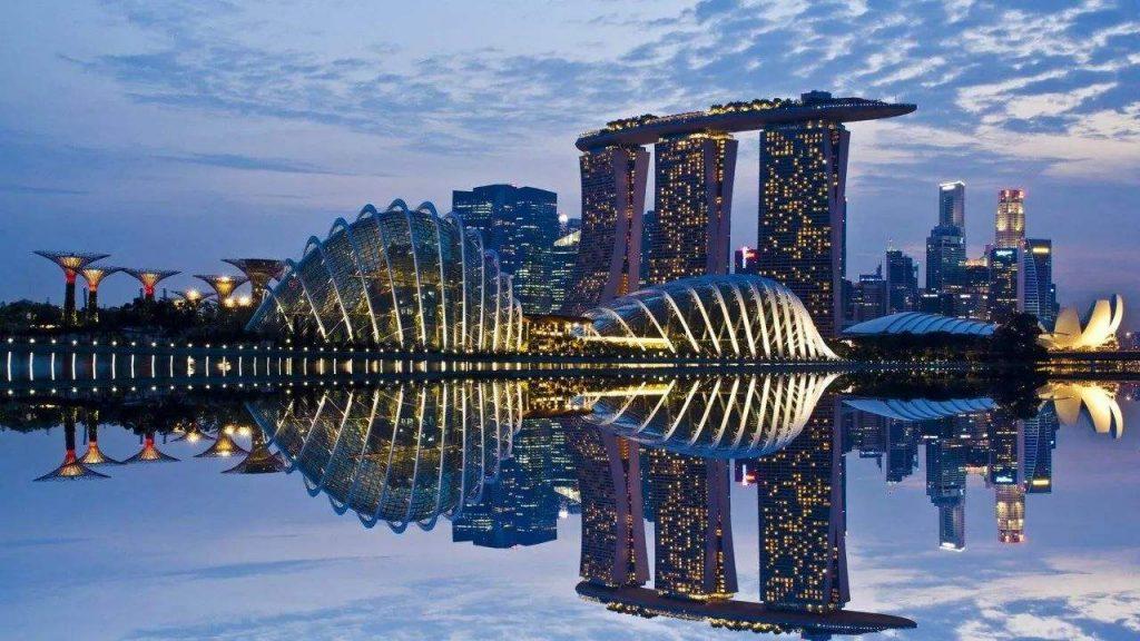 新加坡城市风光
