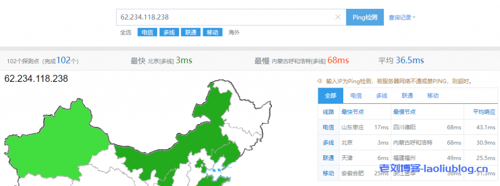 测评腾讯云北京机房1C2G2M星星海SA2云服务器性能