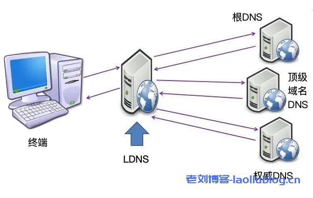 LDNS会从根DNS问起