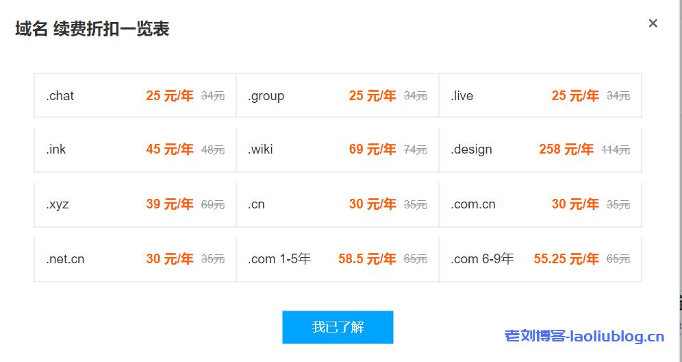 腾讯云域名续费优惠最低25元/年