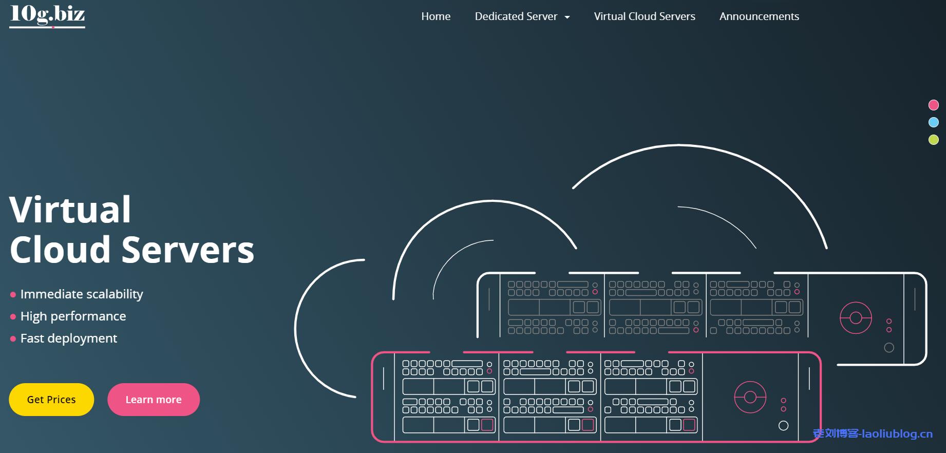 10gbiz四月促销:洛杉矶cn2 gia不限流量200M带宽站群服务器7折优惠,1核1G内存10G SSD硬盘15M带宽cn2 gia vps 4折优惠低至$3.58/月