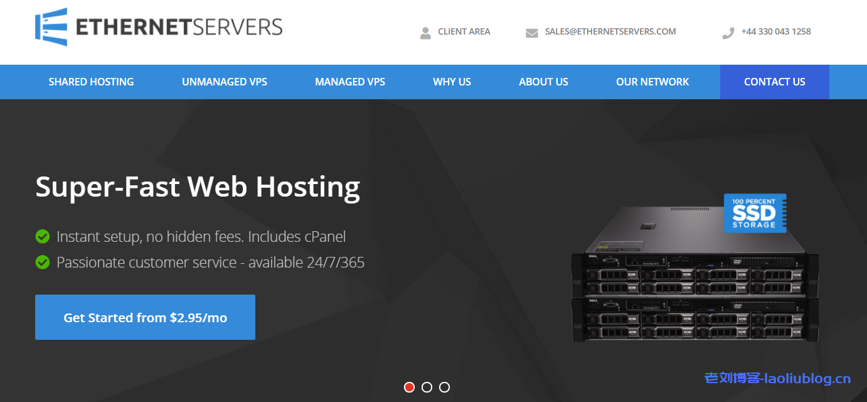 EtherNetservers促销套餐大量补货:1核1GB内存30GB硬盘1Gpbs带宽2TB月流量2IPv4洛杉矶VPS年付12美元附测试IP