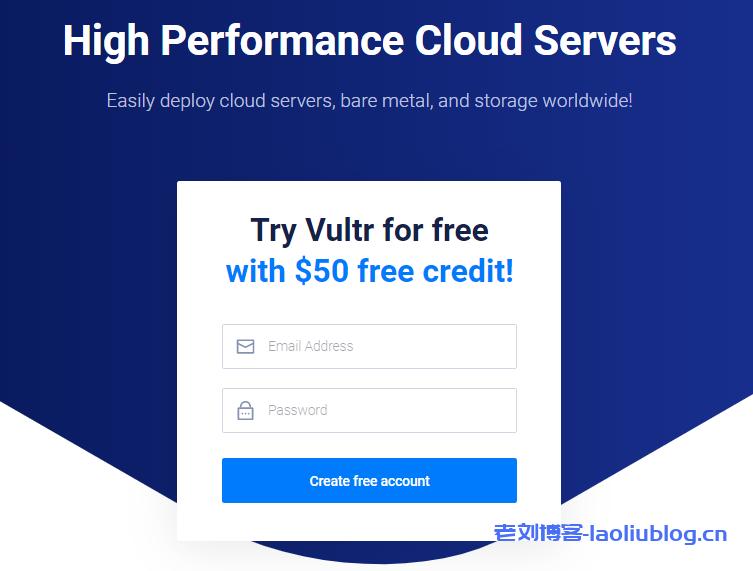 Vultr新用户注册获赠$50或$100账户余额方法附Vultr便宜vps方案整理
