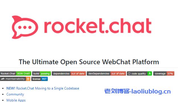 在宝塔面板环境下用npm安装Rocket.Chat在线聊天室(一款优秀的即时聊天系统)教程