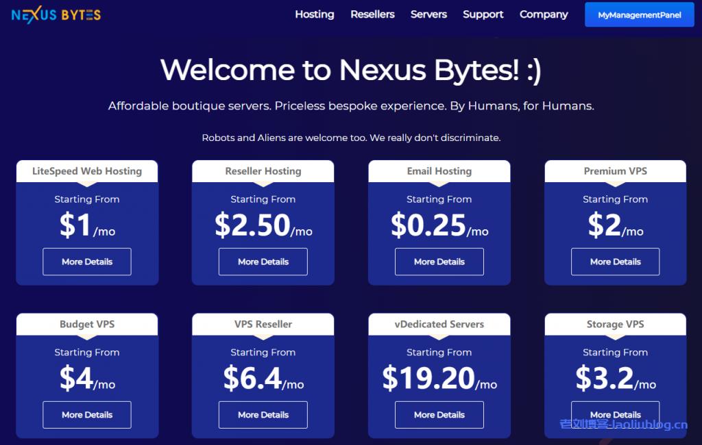 NexusBytes日本AMD Ryzen高性能VPS:1核1G内存15GB NVMe硬盘1Gbps端口250GB月流量$4.00/月