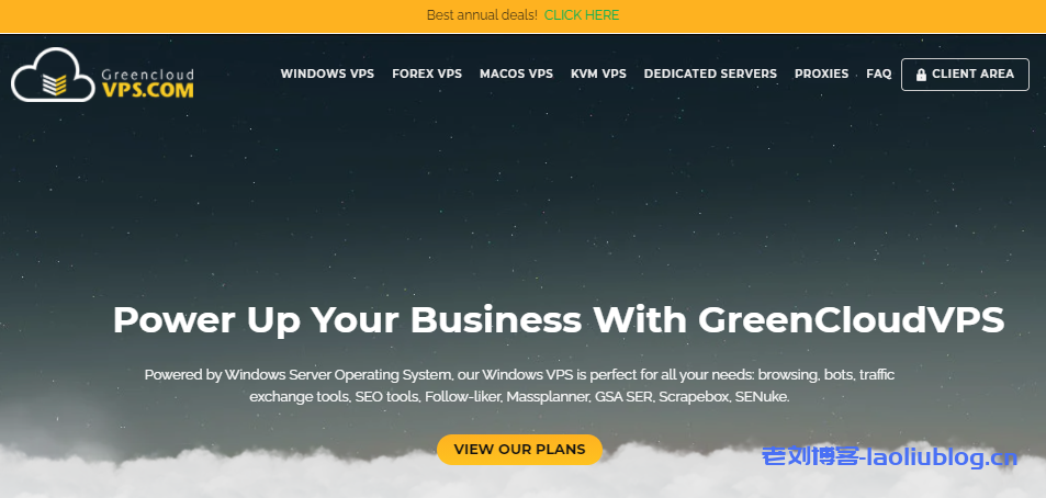 GreenCloudVPS绿云日本大阪大硬盘VPS,1核1G内存100GB硬盘1Gbps带宽250G月流量25美元/年