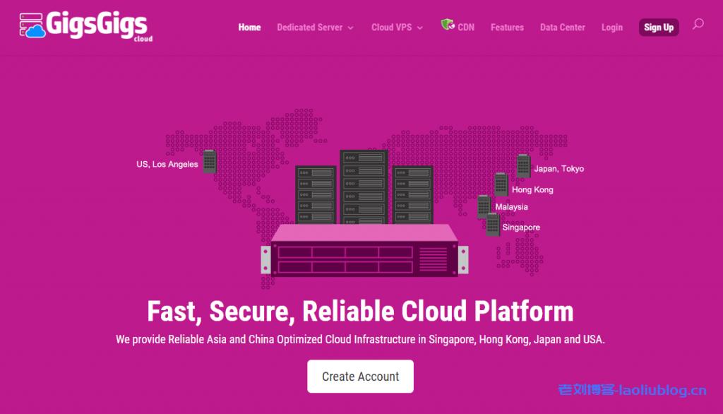 GigsGigsCloud推出个人特别版套餐SimpleCloud SE,美国CN2 GIA+CUVIP线路,$18/季或$70/年/1c/1g RAM/20G SSD/500G月流量/200M峰值带宽